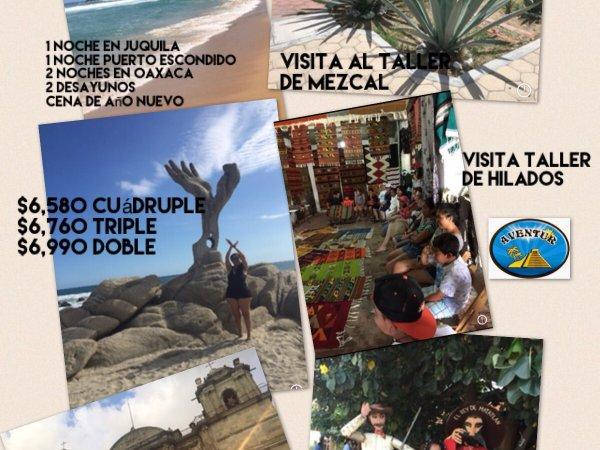 PUERTO ESCONDIDO,  HUATULCO, OAXACA Y JUQUILA 12-18 ABRIL